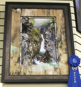 Custom Framing 1st prize