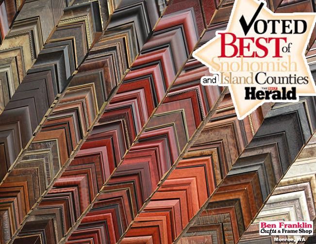 Voted best frame shop