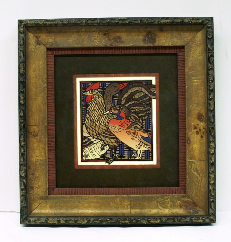 Bird Custom Frame available at our Frame Shop in Bonney Lake