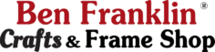 Ben Franklin Crafts and Frame Shop LOGO