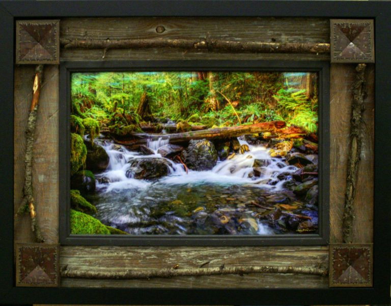 Naturescape Frame available at our Frame Shop in Bonney Lake