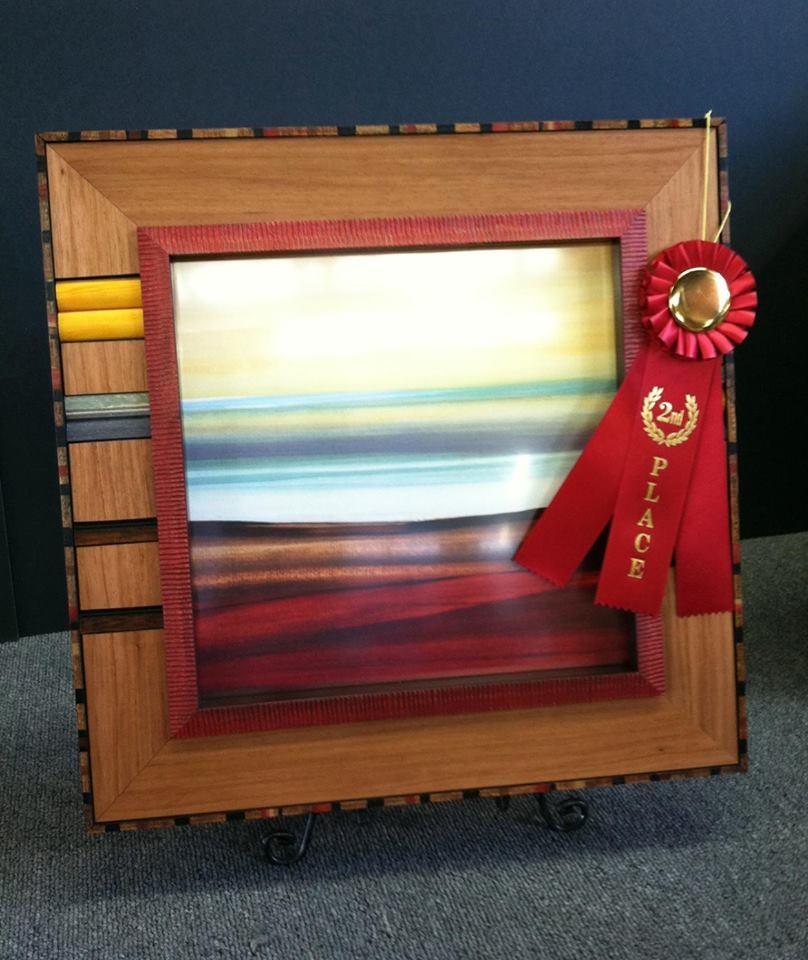 Custom Framing 2nd prize winner