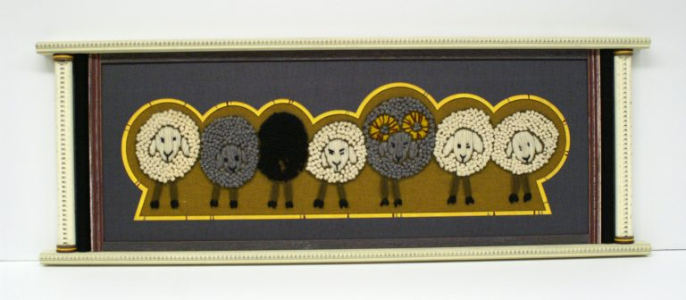 Sheep Frame available at our Frame Shop in Bonney Lake