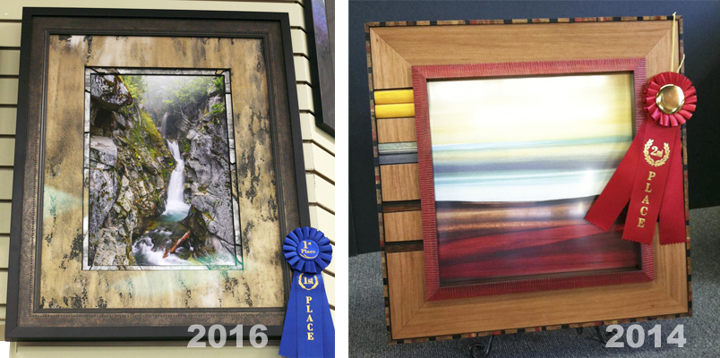 Award winning custom frames