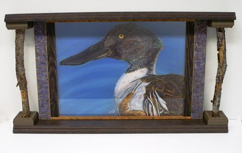 Loon Wood Frame available at our Frame Shop in Bonney Lake