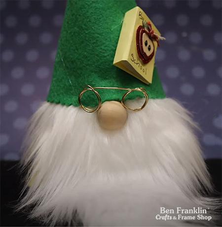 DIY Teacher Gnome