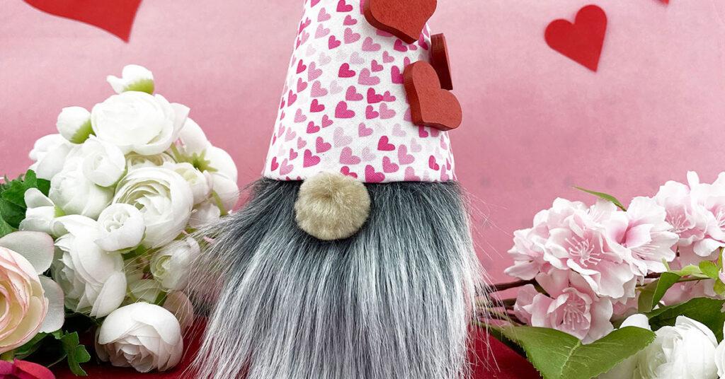 How to make a Valentine Gnome