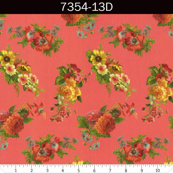 Flea Market Mix fabric by Cathe Holden for Moda   M-7354-13D