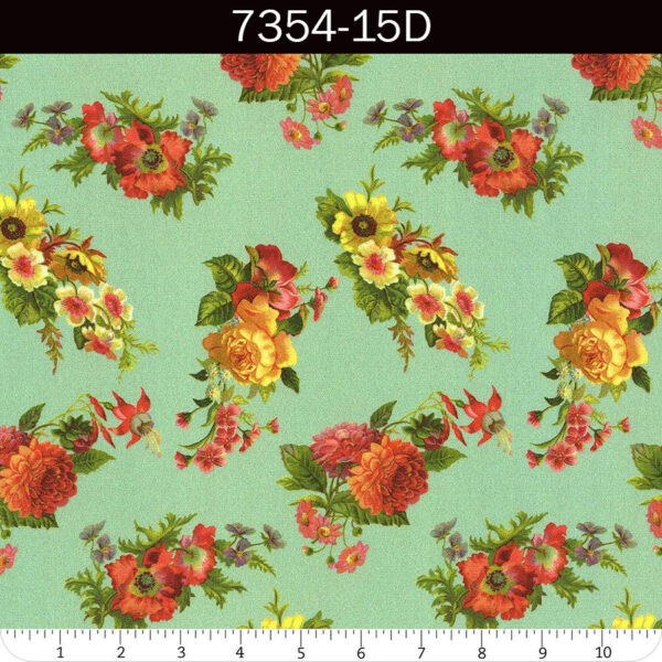 Flea Market Mix fabric by Cathe Holden for Moda | 7354-15D