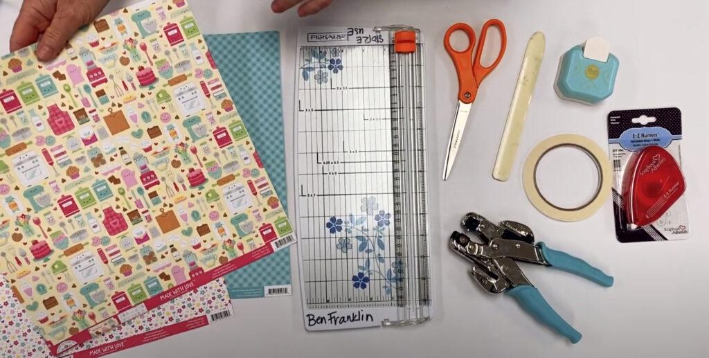 DIY Mini paper boxes supplies