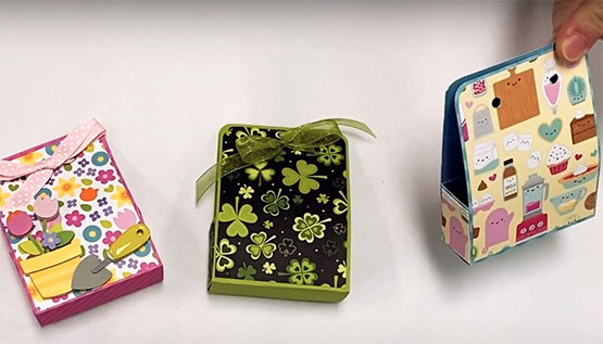 Mini paper boxes ideas