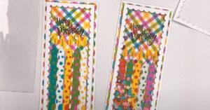 DIY Birthday Shaker Card