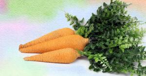 DIY Cord Carrots