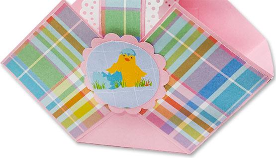 DIY Easter Paper Basket