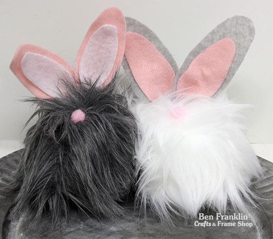 DIY Faux Fur Bunny
