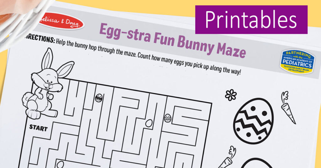 Easter Printable for Kids