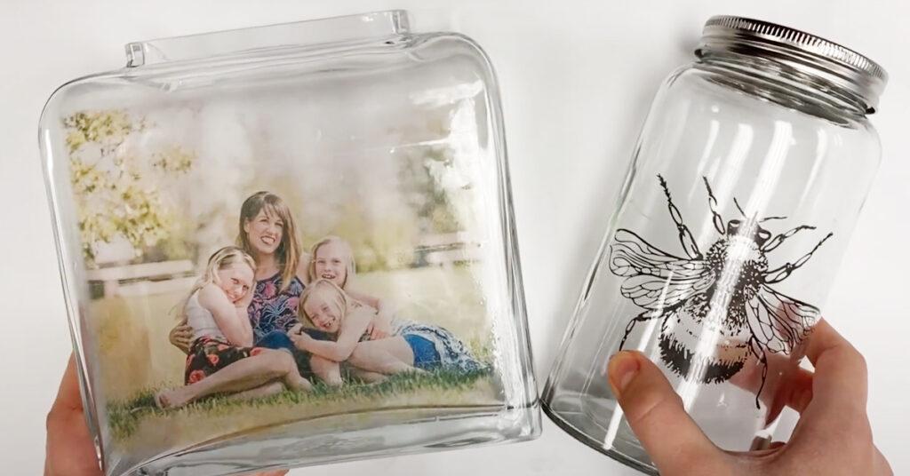 DIY Packing Tape Photo Transfer