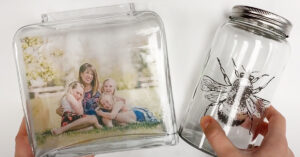 DIY Packing Tape Photo Transfer