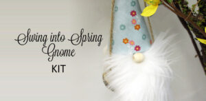 Swing Into Spring Gnome