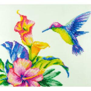 Diamond Art Hummingbird Kit