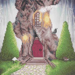 Diamond Painting Gnome Home
