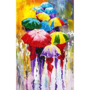 Diamond Painting Rainy Day