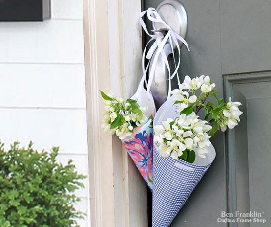 Doorknob Flower Cone