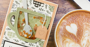 How to make a Tea Cup Shaker Card