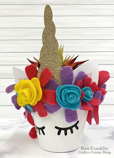 Unicorn Planter Craft