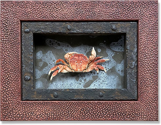Custom Framed Crab