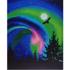 Diamond Painting Aurora Eagle