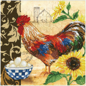 Diamond Painting Country Rooster