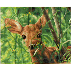 Diamond Painting Forest Babe
