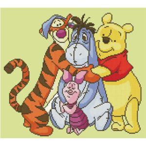 Diamond Painting Winnie the Pooh & Friends