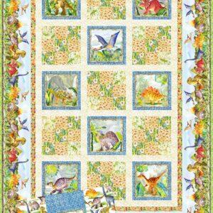 Dinosaur Friends Quilt Pattern