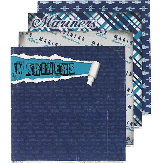 Mariners Scrapbook Paper