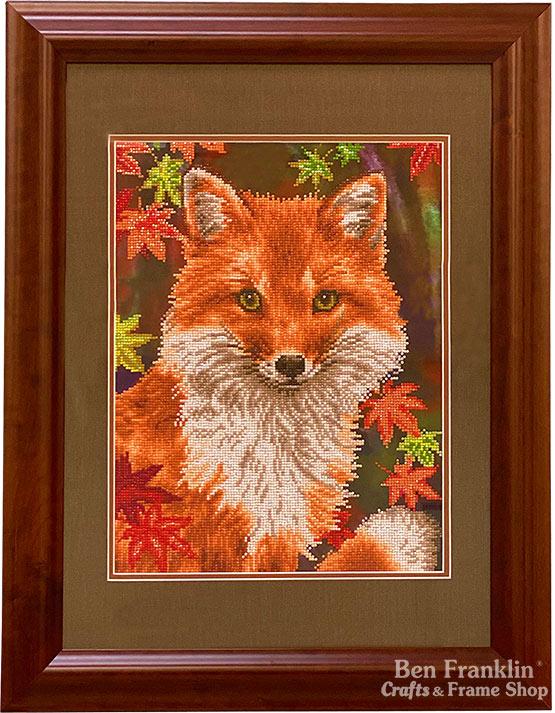 Diamond Dotz Framed Fox
