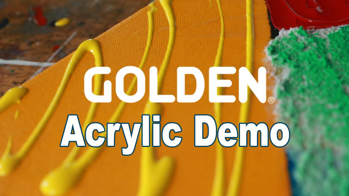 Golden Acrylic Demo