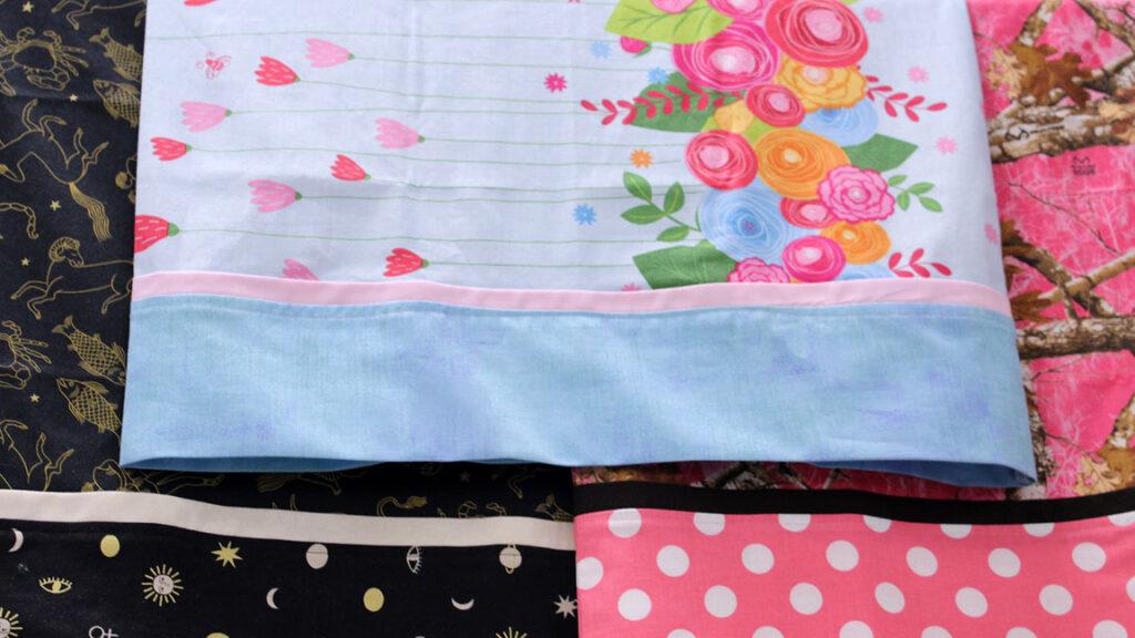 Pillowcase Sewing Class