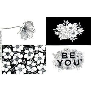Illustrations Fabric Panel by Alli K. Design