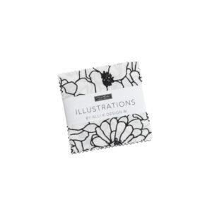 Illustrations fabric Mini Charm by Alli K. Design for Moda