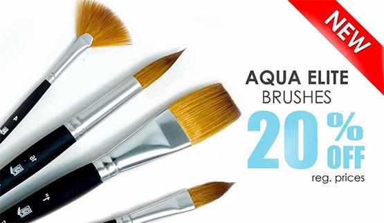 Aqua Elite Brushes Sale