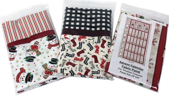 Christmas Pillowcase sewing kits