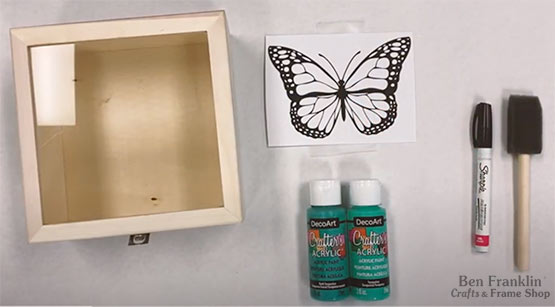 Glass Painting Technique