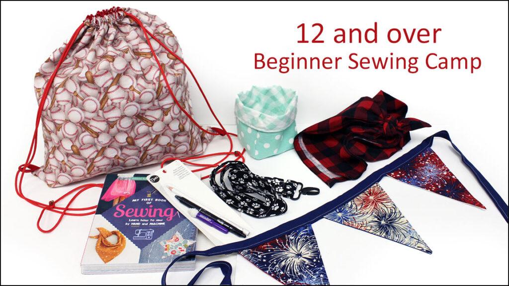 Kids Beginner Sewing Camp