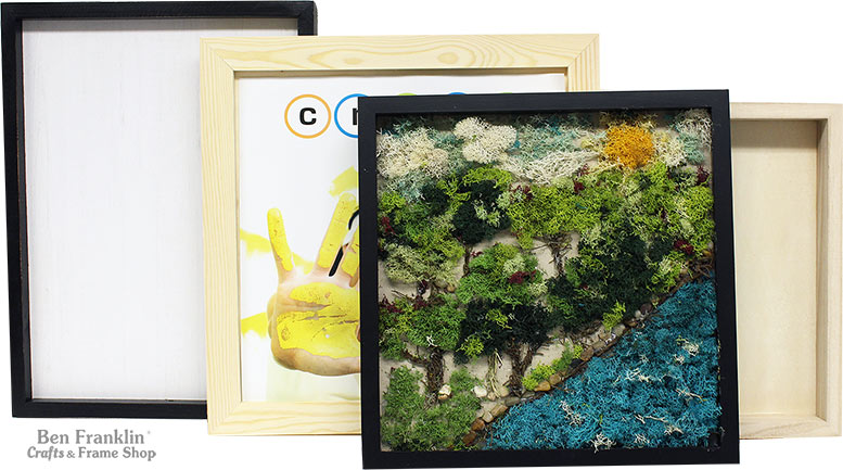 Moss Art Projects: Nature Scene