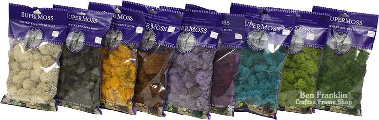 Super Moss assorted colors