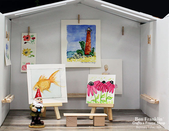 Tiny Art Gallery - World Watercolor Month