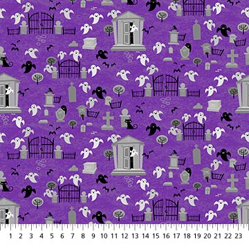 Ghoultide Gathering Fabric - 10019-84