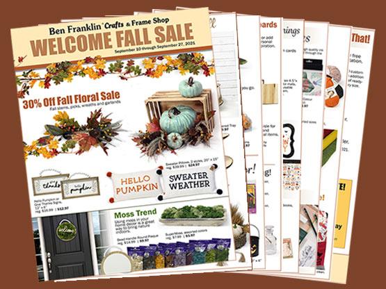 Welcome Fall Sale